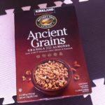 コストコのAncient Grainsアーモンド グラノーラ☆ザクザク香ばしくてほんのり甘い!