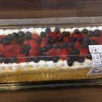 新商品☆ストロベリーブルーベリーケーキの衝撃の断面に唖然・・・