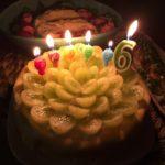 【グリーンシードレスグレープを使って誕生日ケーキ作り☆コストコおすすめ商品】