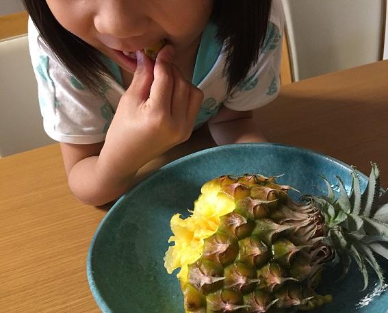 唇 痛い パイナップル