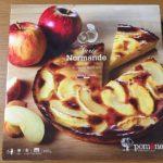【コストコのアップルノルマンドタルト☆厚切り林檎にカスタード&さっくりタルトが美味しい!】