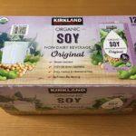 【コストコのKSオリジナルソイミルクはあっさりすっきりした軽い味わい!】