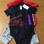 【コストコのCARTERSロンパース&ボトム3点セット☆可愛くて着心地の良い子供服♪】