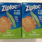 【コストコのジップロックサンドイッチバッグ☆食べ物や小物まで幅広く活用できる!】