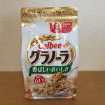 【コストコのカルビーグラノーラ☆甘くないタイプ!フルーツなしのシンプルな味わい】
